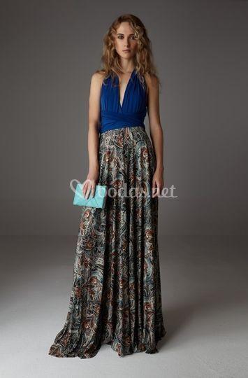Vestido multidres modelo v897