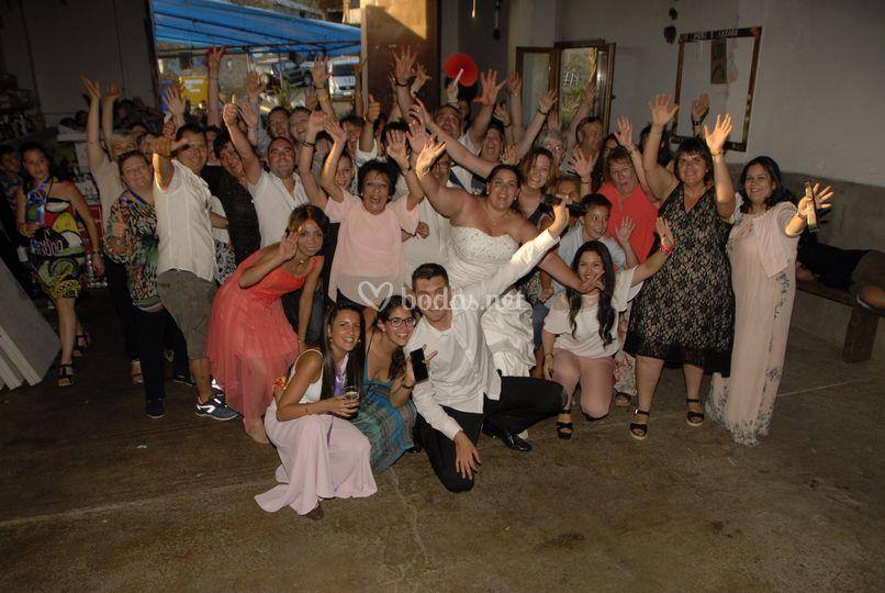 Foto final boda