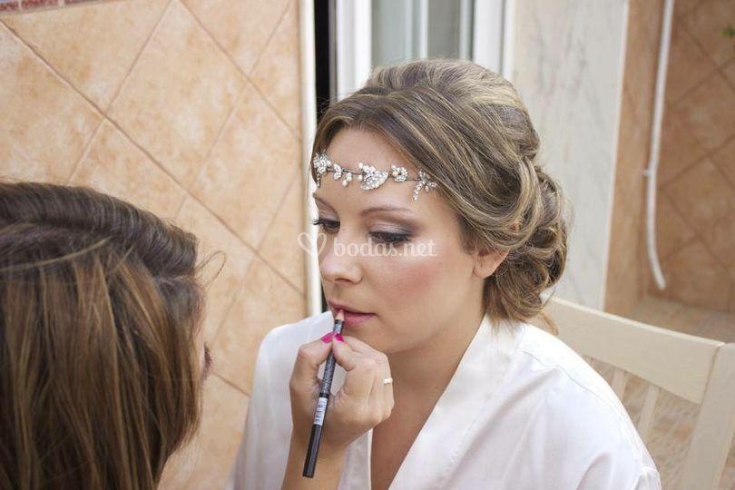 Maquillaje de novia bridal
