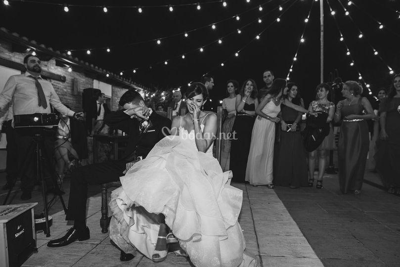 El video de boda