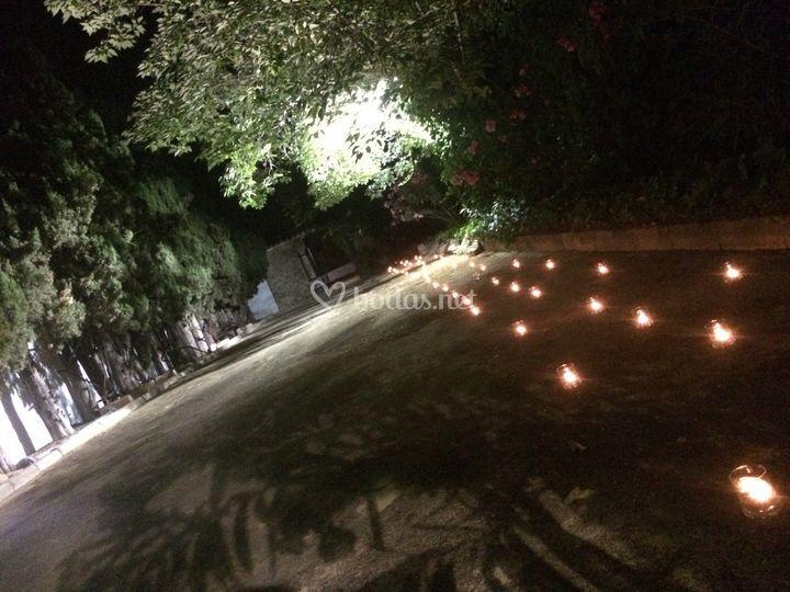 Camino de velas