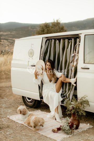 Vestidos sostenibles Eco Bride