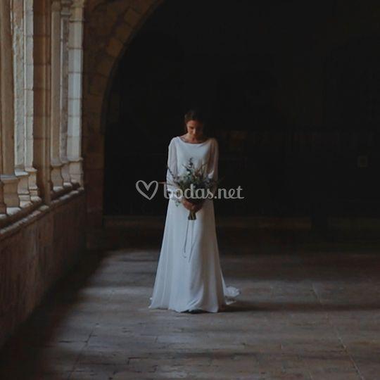 Vídeo de boda ramo de novia