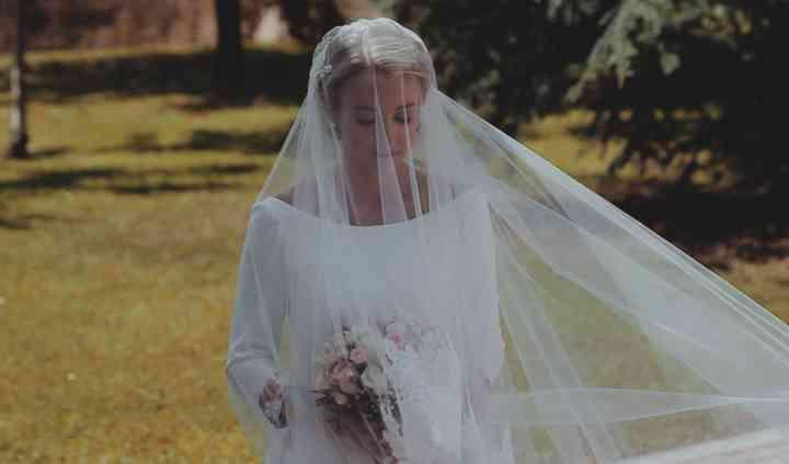 Vídeo de boda vestido de novia