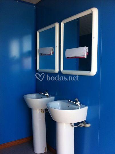 Urinario azul