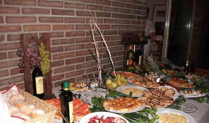 Buffet comida