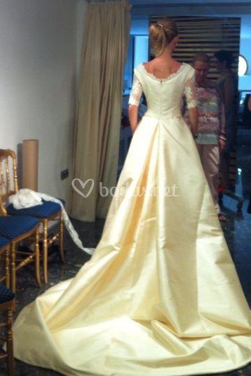 Vestido de novia Slabon