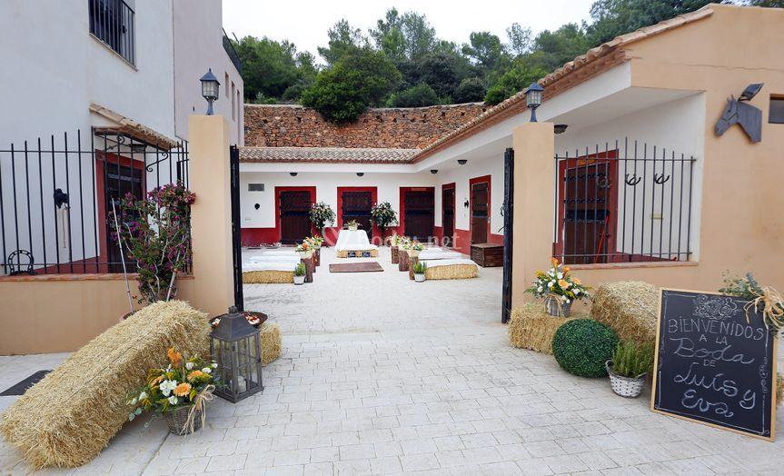 Ceremonia patio andaluz