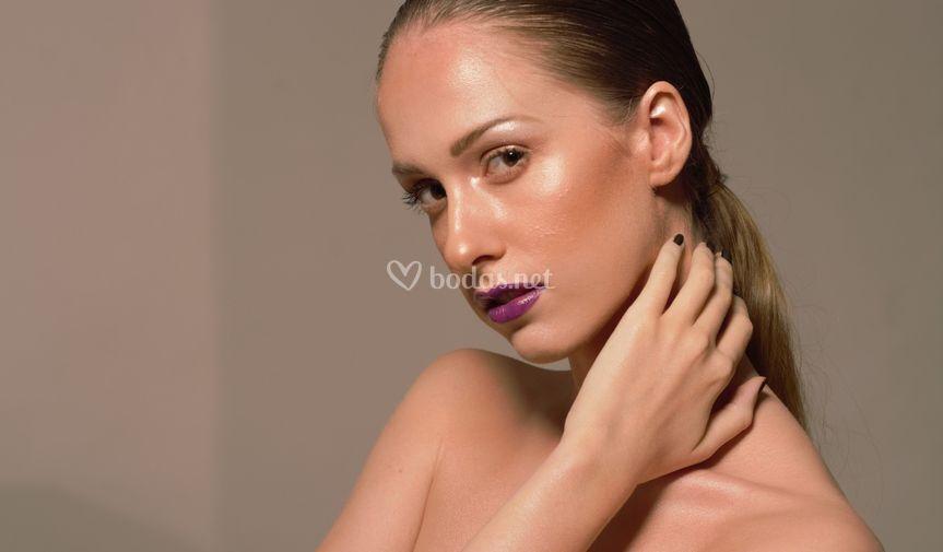 Maquillaje strobing