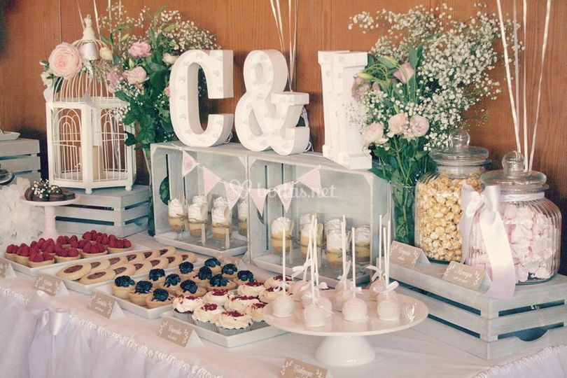 Cookies paradise for Fotos de mesas de bodas