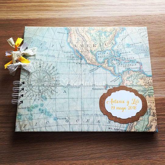 Álbum-Libro Mapa