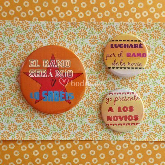 Chapas/Imanes personalizado