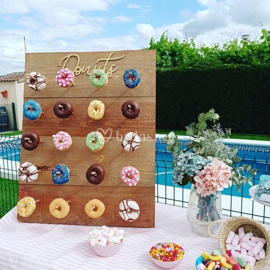 Tabla de donuts