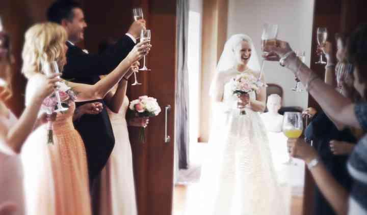 Un brindis por la novia