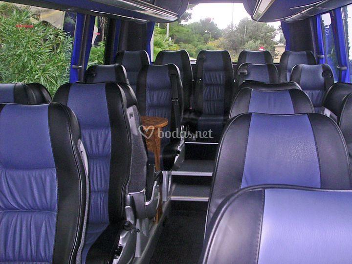Interior minibus
