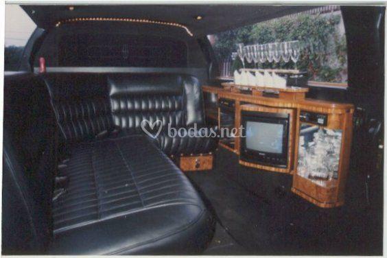 Interior Limousine Lincoln Tow Car Limousine