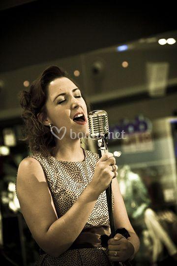 Cantante Jazz-Soul