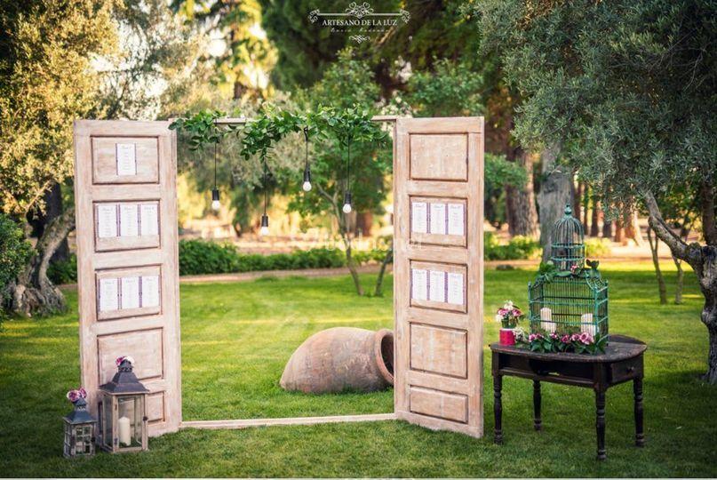 Seating plan puertas