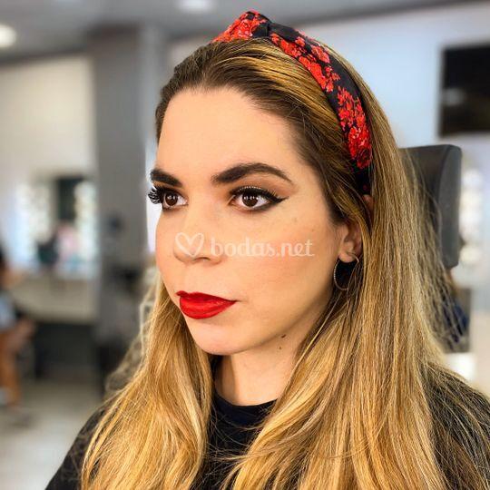 Maquillaje estilo pin-up
