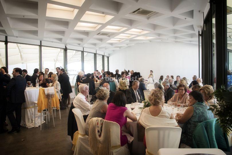 Banquete mixto buffet gala