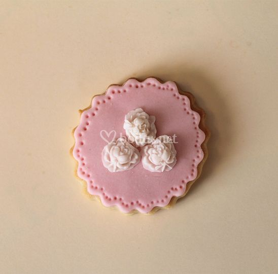 Galleta decorada boda