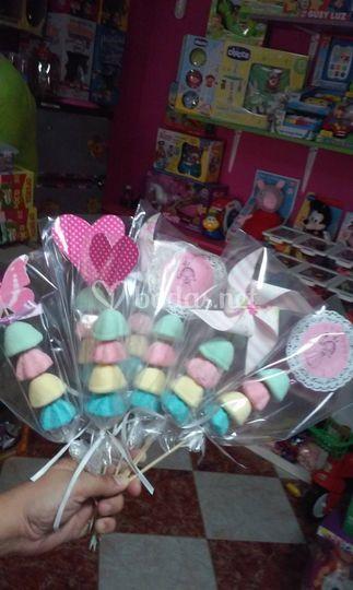Brochetas dulces