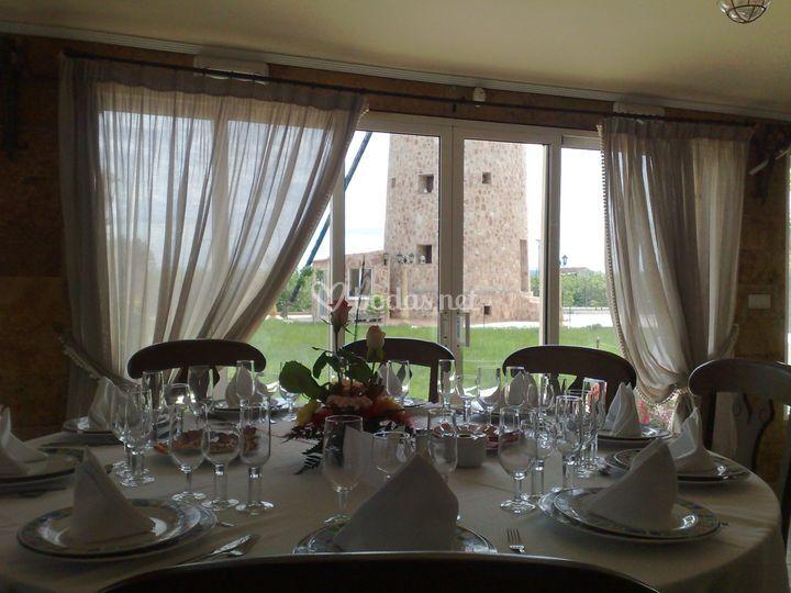 Banquete, vistas privilegiadas