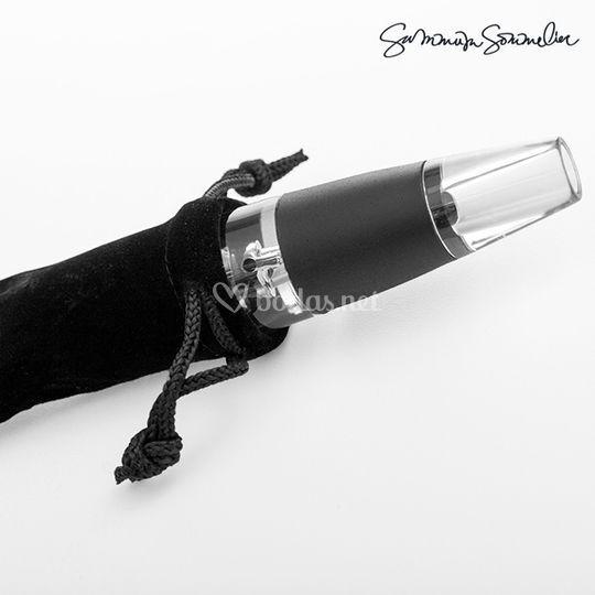Aireador de vino económico