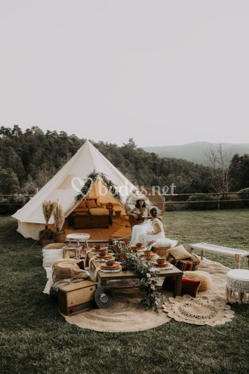 Eco Festival Wedding