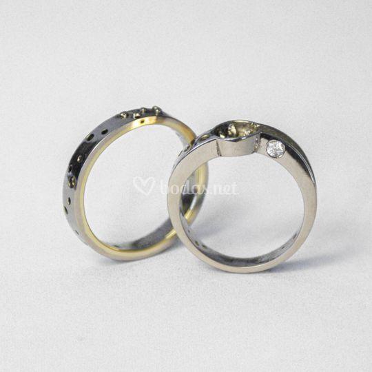 Anillos de boda, oro