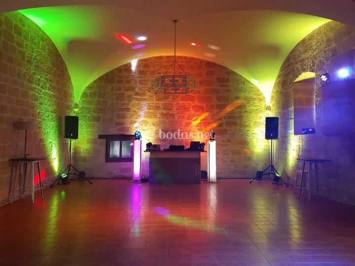 Sala baile Monasterio Espino