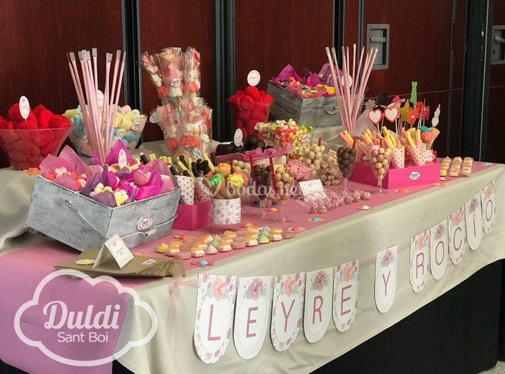 Candy Bautizo + Boda