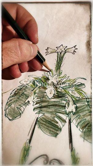 Diseño decoración floral