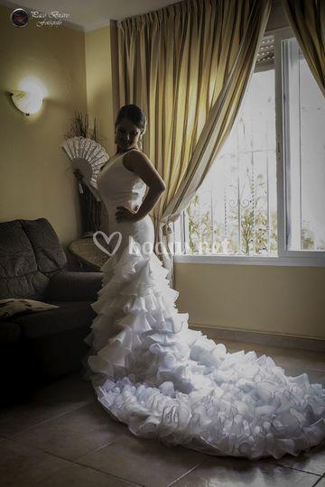 Una novia con mucho salero