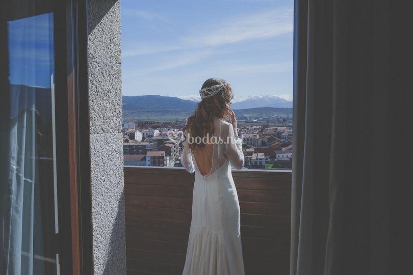 Terraza de habitación y vistas