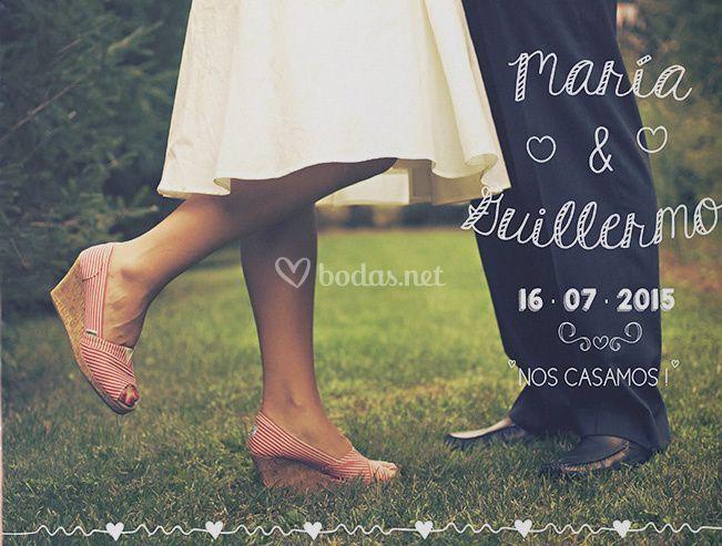 Invitación de boda Fotografía