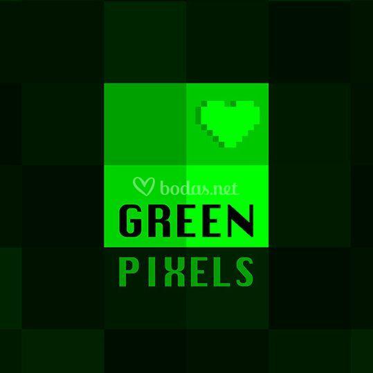 Logo Green Pixels