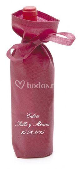 Envoltorio de botella personalizado