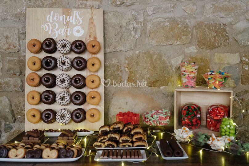 Donut + Candy Bar
