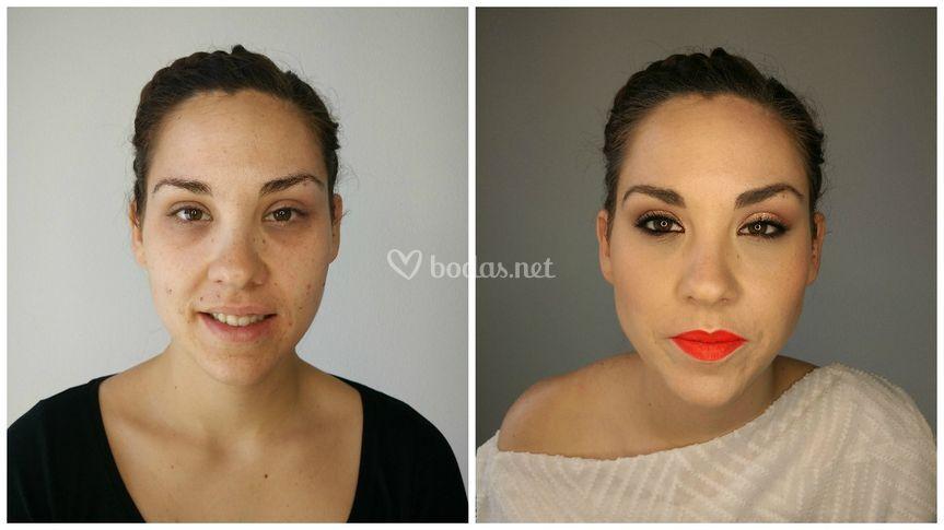 Antes y después María