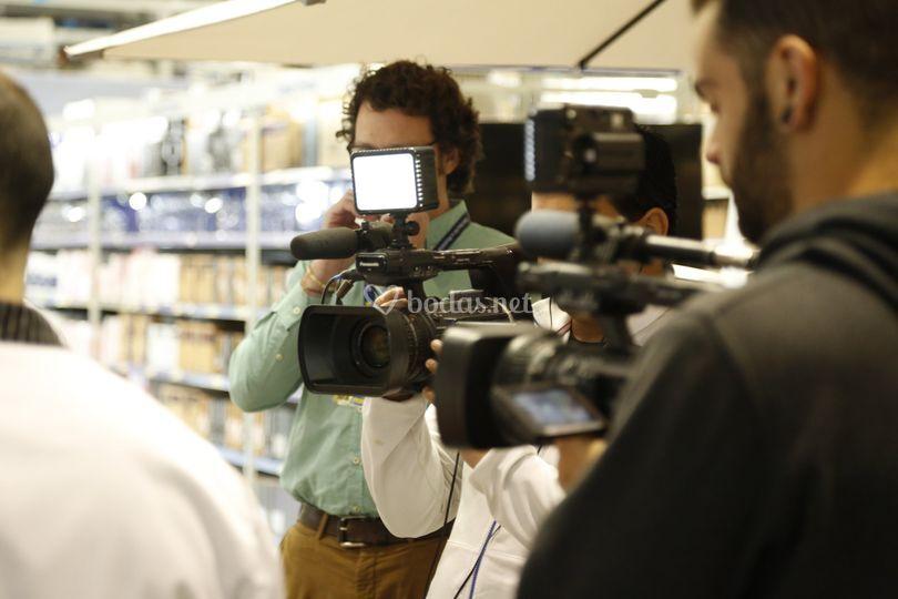 Profesionales del sector audiovisual