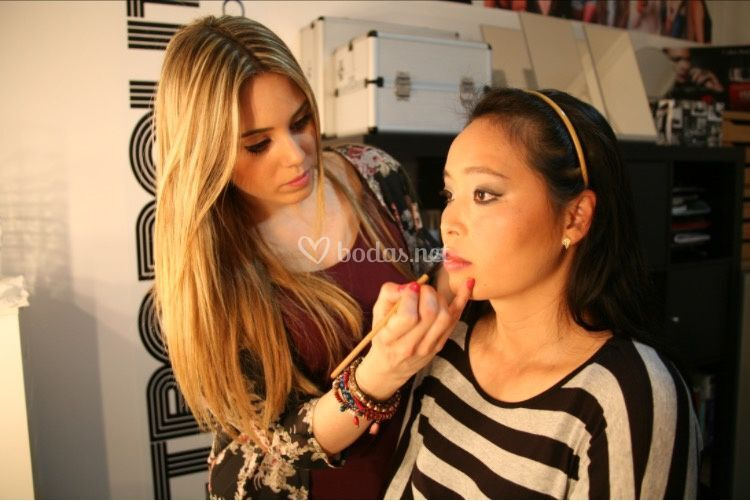 Makeup chica rasgos orientales