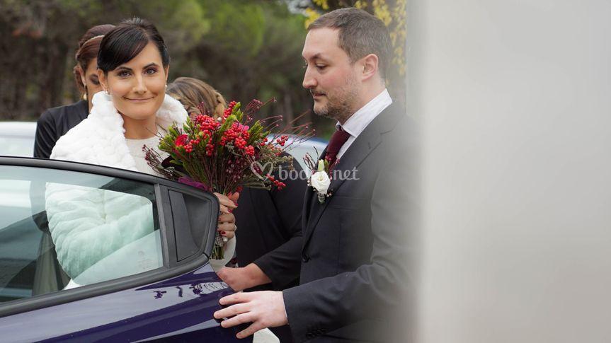 ¡Ya llega la novia!