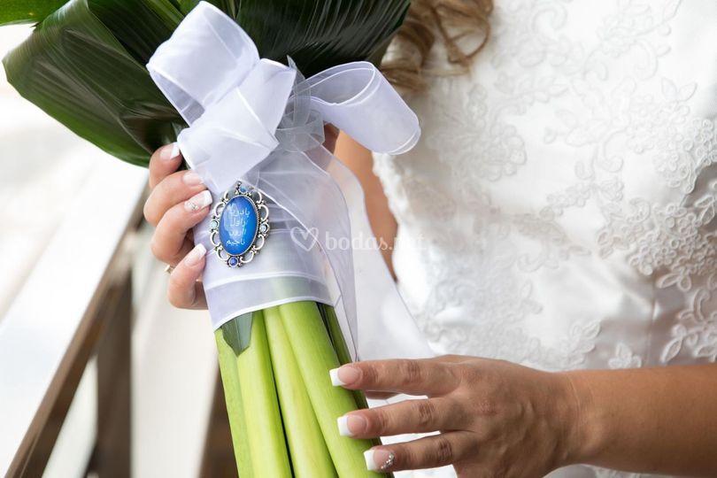 Colgantes ramo de novia