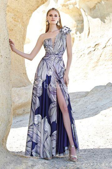 Vestido de invitada María Barcia