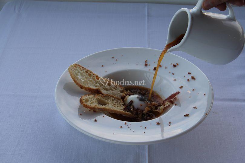 Gastronomía con vistas