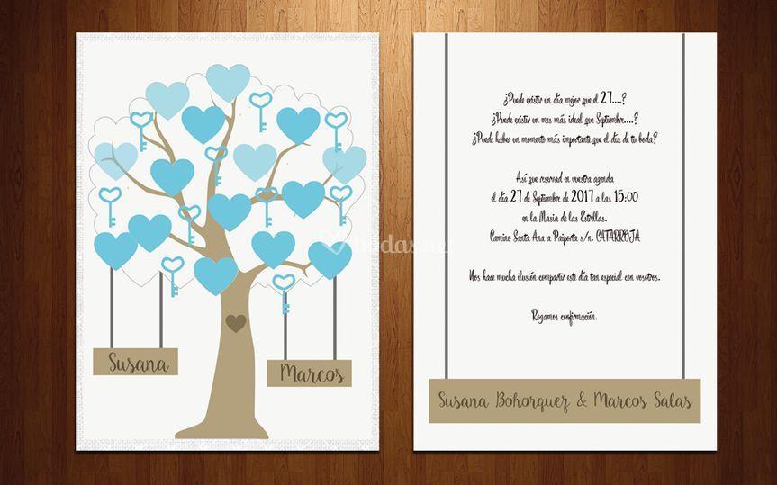 Invitación árbol