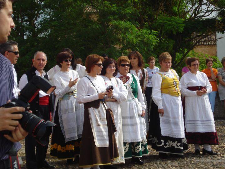 Coro a la llegada de la novia