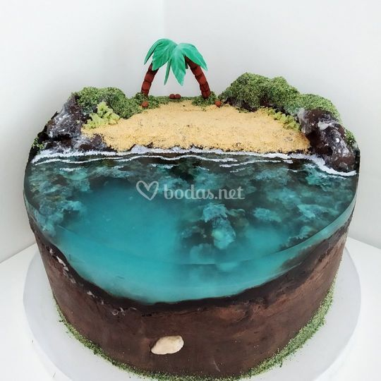 Tarta de océano