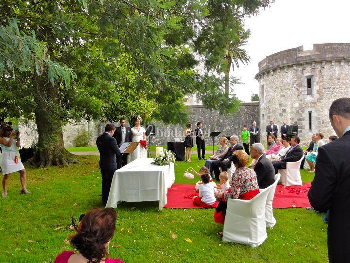 Boda Civil en Castillo Arteaga